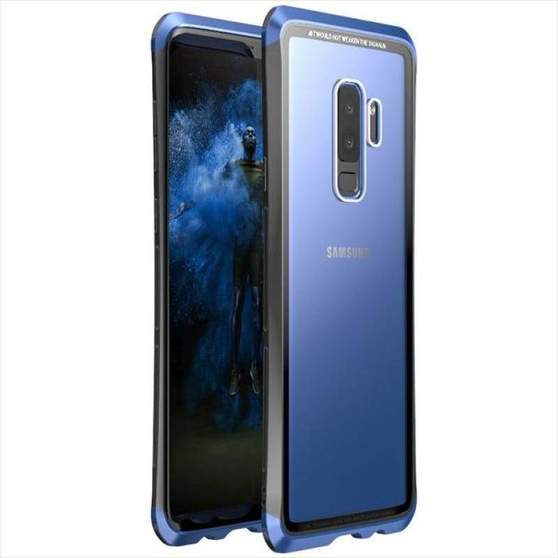 Aluminum Bumper Protective Case Bundle For Samsung Galaxy Note 9 - Phone Case - Free Shipping