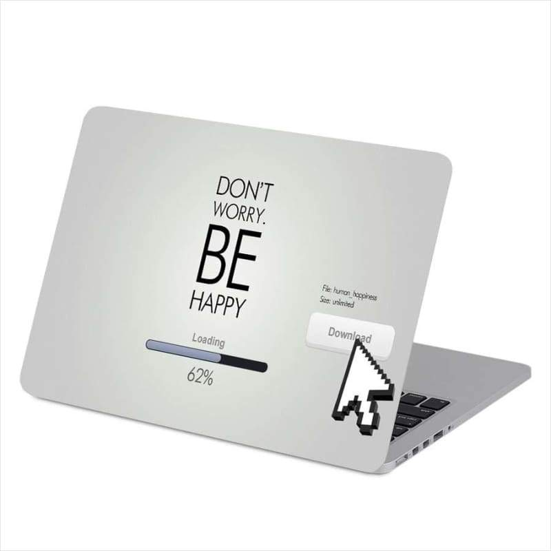 Be Inspired Quote Universal Laptop Fashion Protective Skins - Laptop Cover - Free Shipping