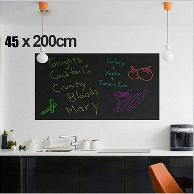 Blackboard Sticker - Chalkboard Sticker - Free Shipping