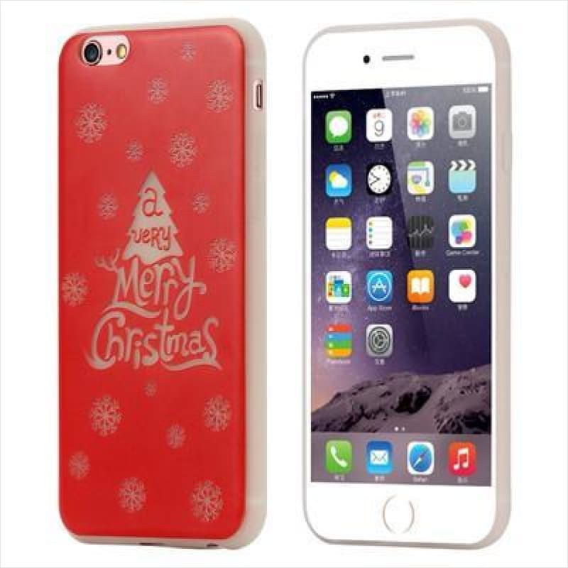 [Christmas Edition] Glowing Light iPhone XS MAX Phone Case - Phone Case - Free Shipping