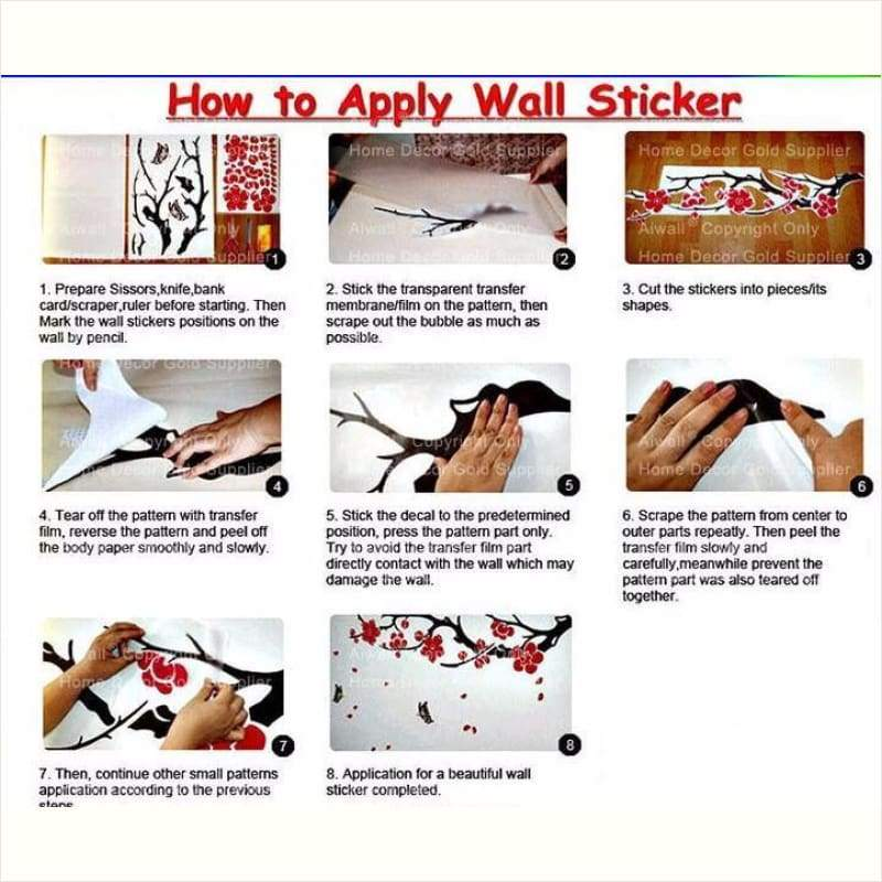 Creative Art Stickers Home Decor - Wall Sticker - Free Shipping