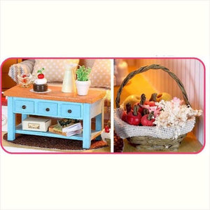 DIY Dollhouse and Furniture Gift Set - DIY - Free Shipping