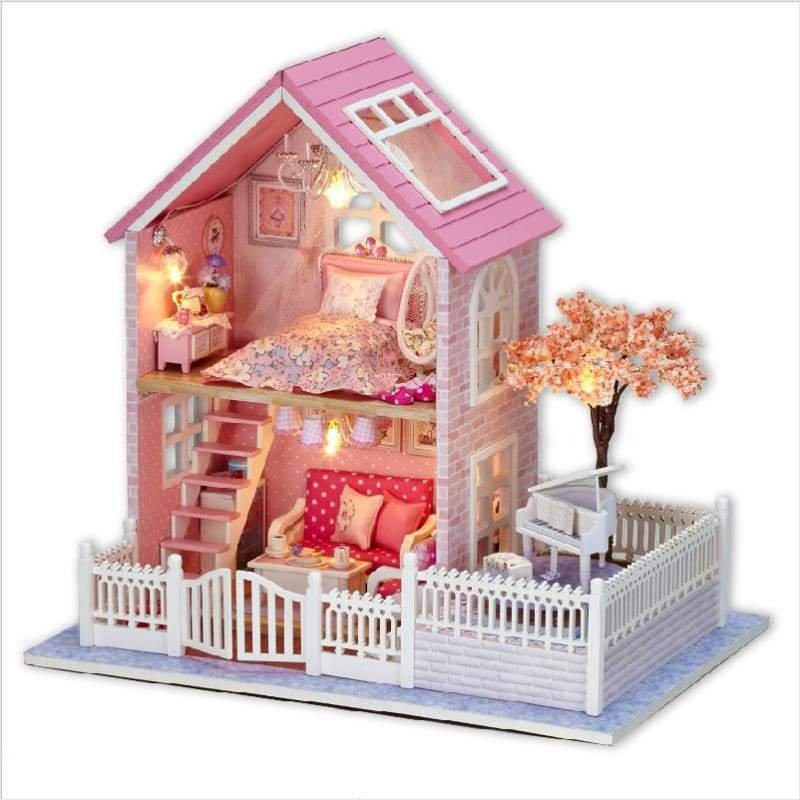 DIY Pink Doll House - DIY - Free Shipping
