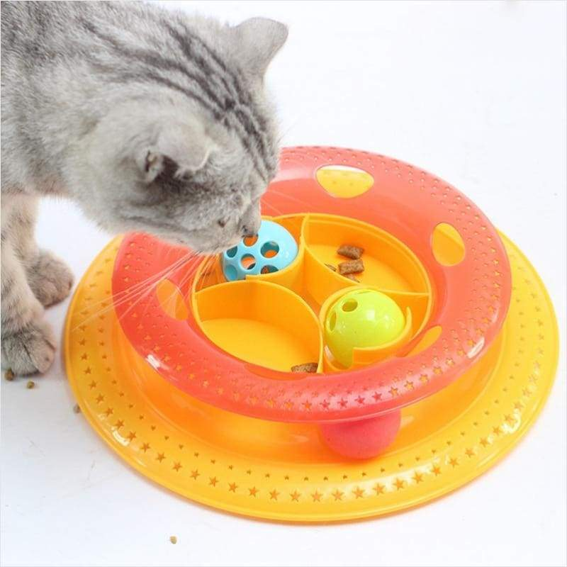Funny Tower of Tracks - Cat Toys - Free Shipping