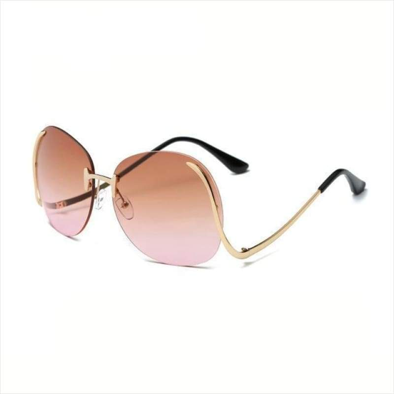 HOT Fashion Oversize Gradient Sunglasses - Sunglasses - Free Shipping