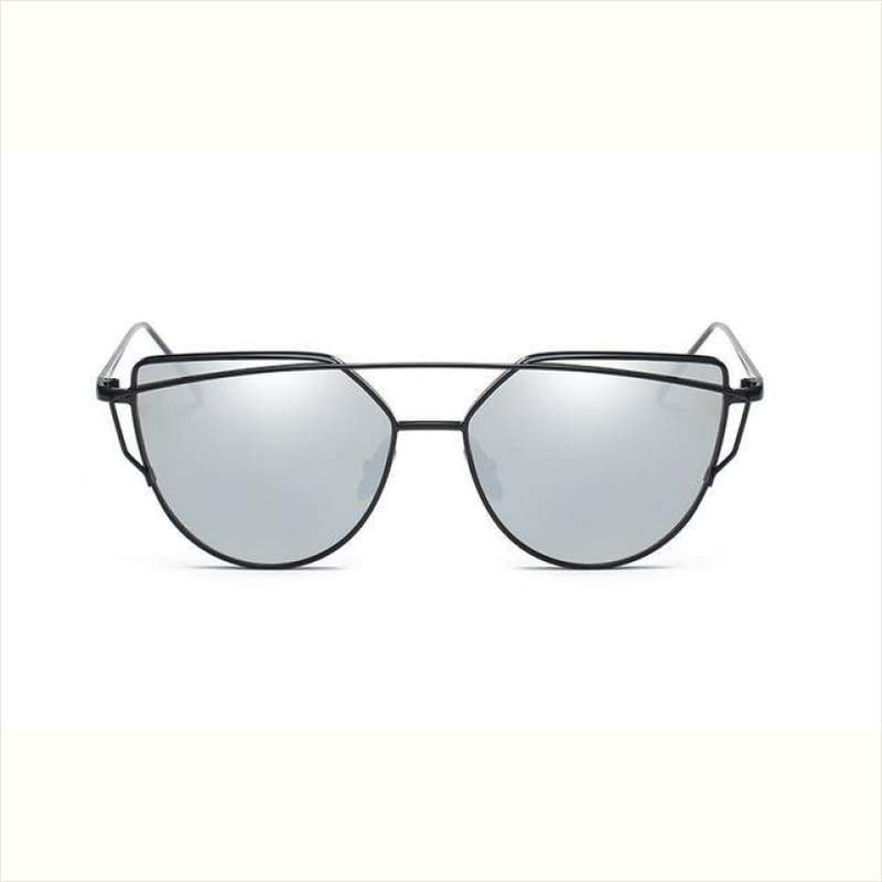 Hot Mirror Cat Eye Sunglasses - Sunglasses - Free Shipping