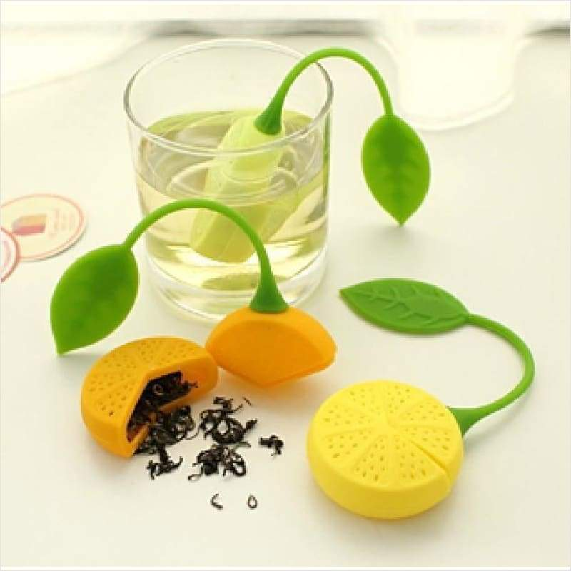 Lemon Shape Loose Tea Leaf Infuser - Tea Infuser - Free Shipping