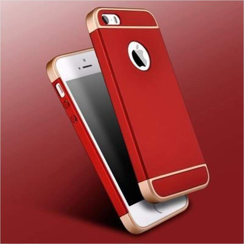 Luxury Removable 3 in 1 Hard PC Case For iPhone - iPhone Case - Free Shipping