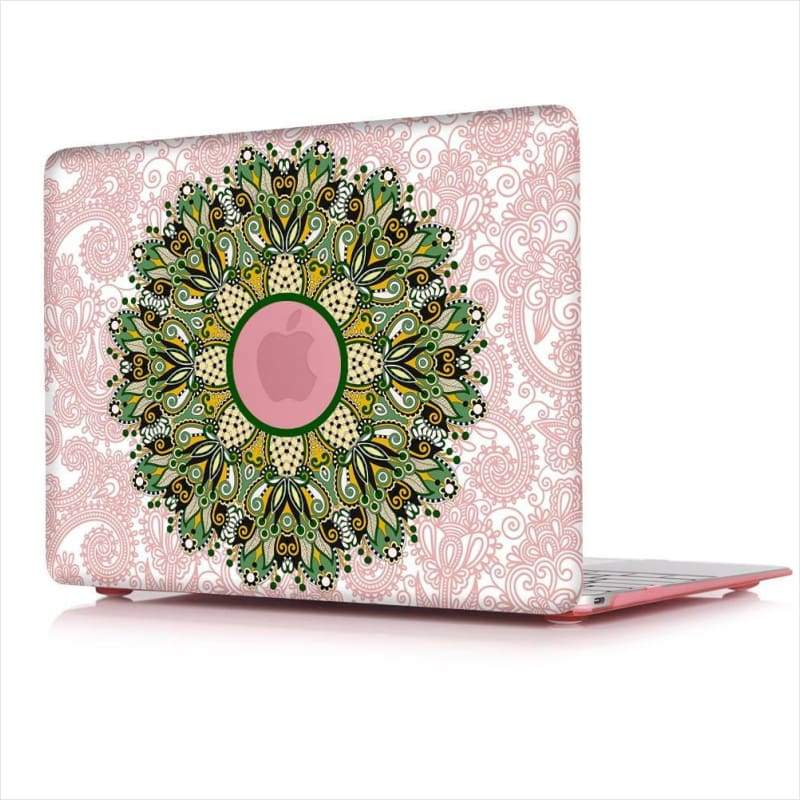 Mandala Hard Cover Case For Macbook Pro - Laptop Cover - Free Shipping