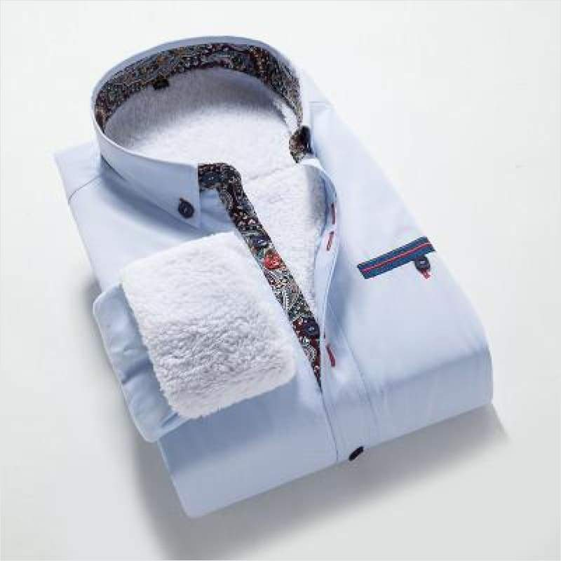 Men's Winter Fleece Shirts - Winter Men Shirt - Free Shipping
