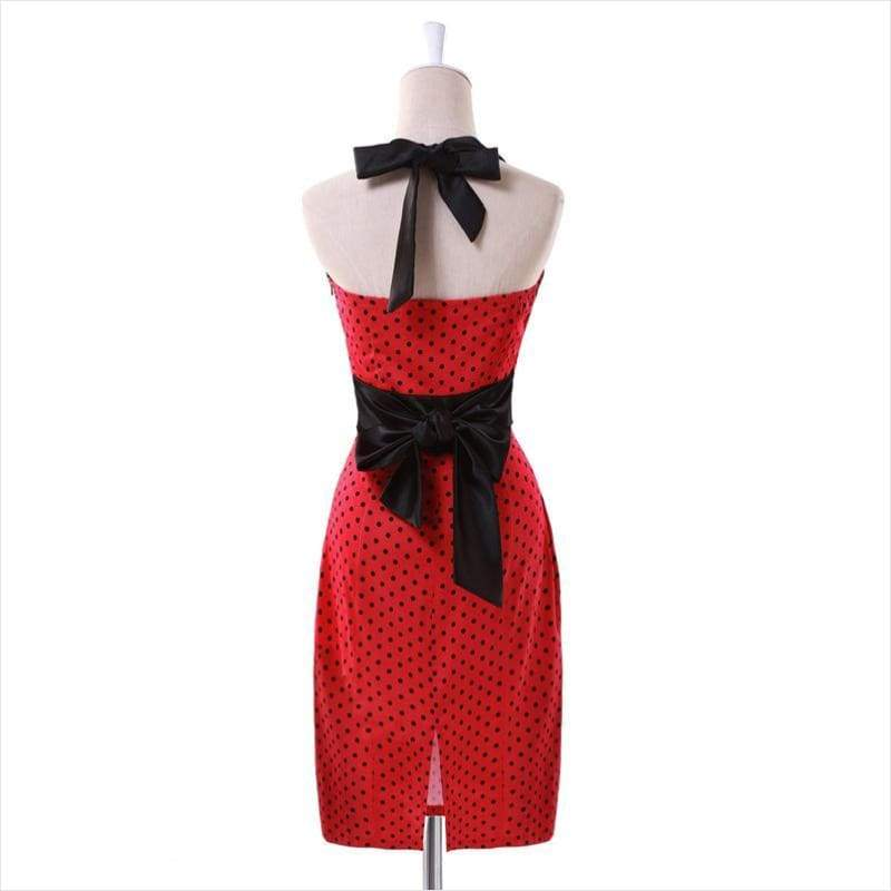 Polka Dot Dress - - Free Shipping