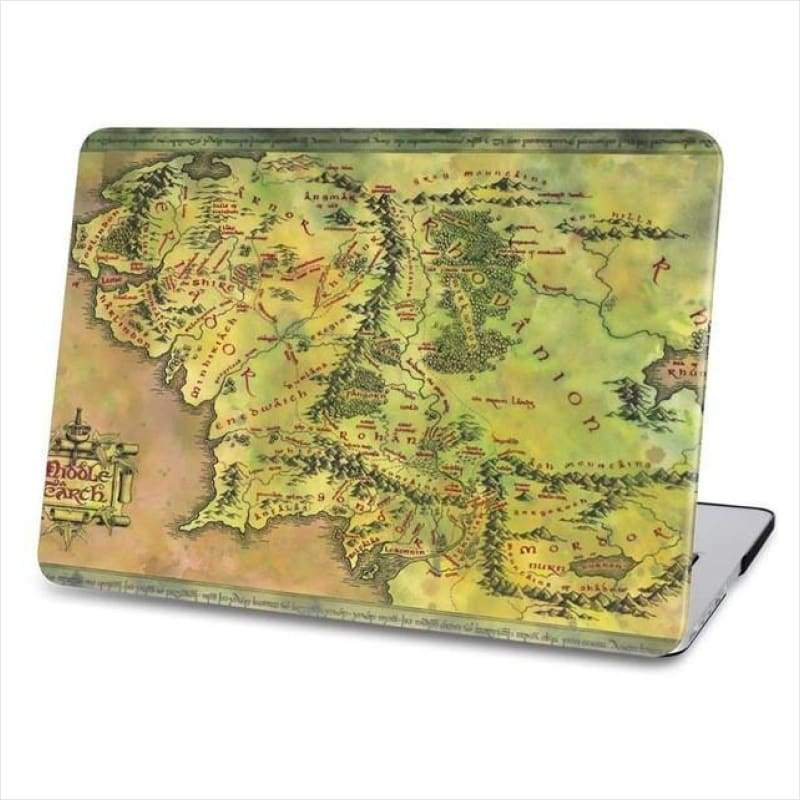 Retro Sailing Map Pattern Hard Case For Macbook - Laptop Cover - Free Shipping
