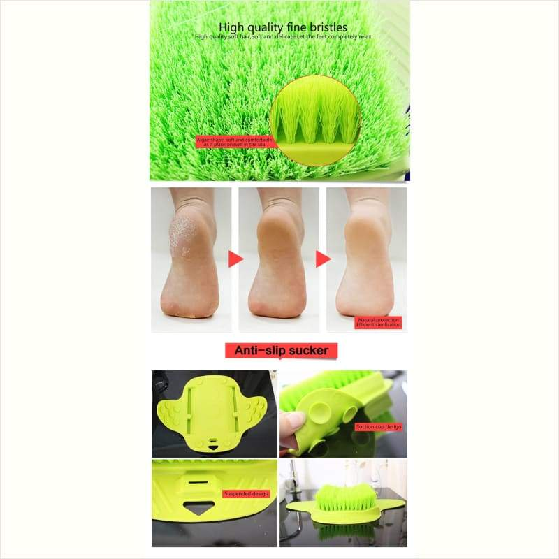 Smart and Convenient Cleaning Brush - Feet Brush - Free Shipping