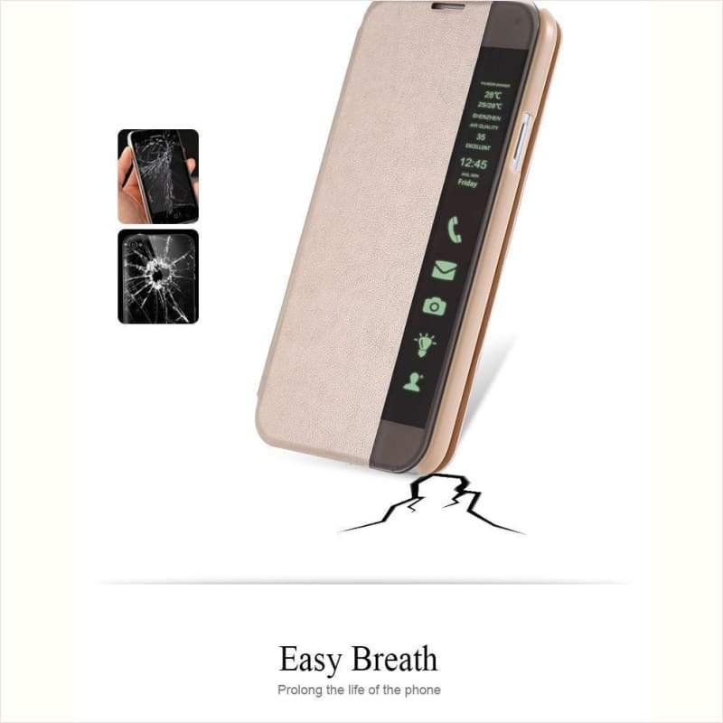 Smart Touch/ Wake Flip Case For Samsung - Flip Case - Free Shipping