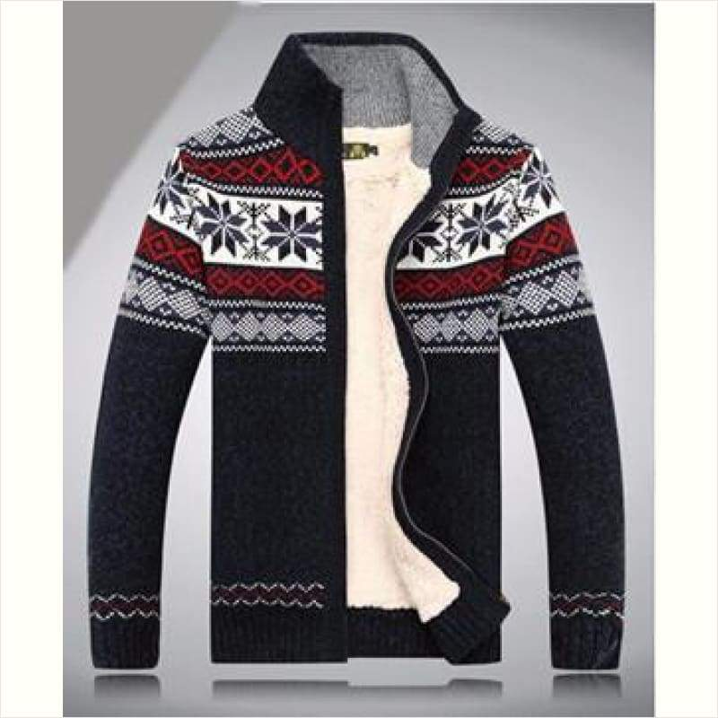 Winter Cardigan Sweater for Men - Christmas Edition - Winter Men Hoodie - Free Shipping