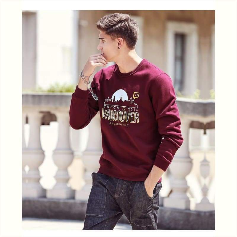 Winter Casual Fleece Sweatshirt for Men - Winter Men Shirt - Free Shipping