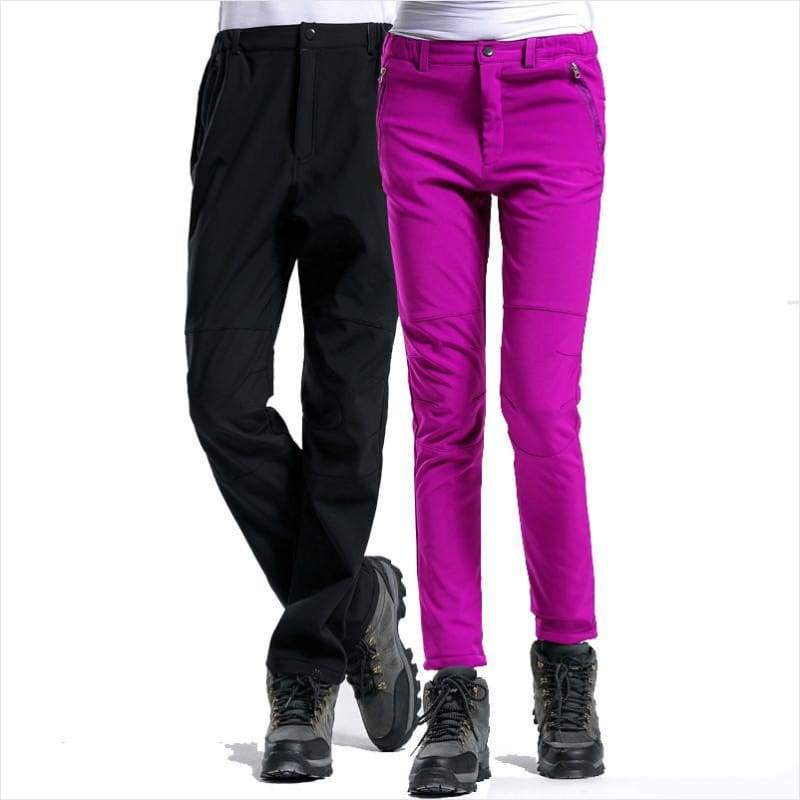 Winter Men Women Sports Inside Fleece Pants - Pants - Free Shipping