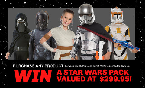Win a Star Wars Prize Pack | Costume World NZ