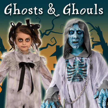 Ghosts and Ghouls Costumes