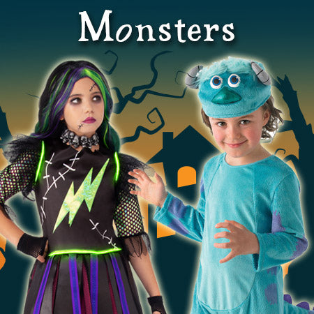 Monsters Costumes and Accessories