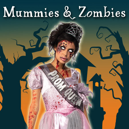 Mummies & Zombies Costumes and Accessories