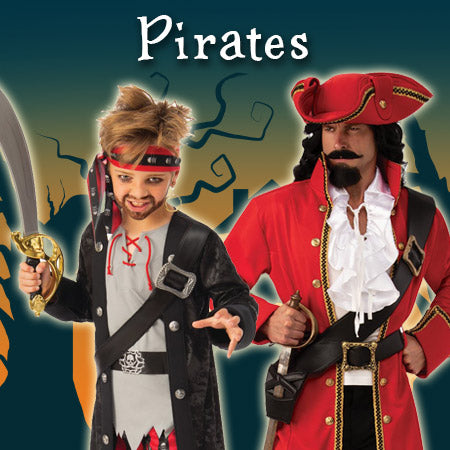 Pirates Costumes and Accessories
