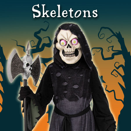 Skeleton Costumes and Accessories