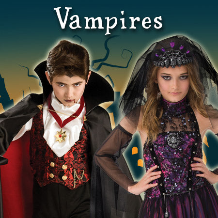 Vampires Costumes and Accessories
