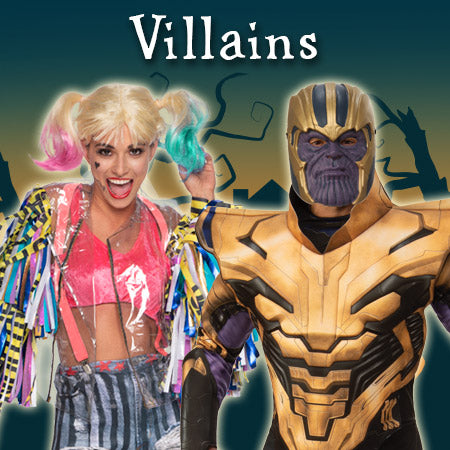 Villains Costumes and Accessories