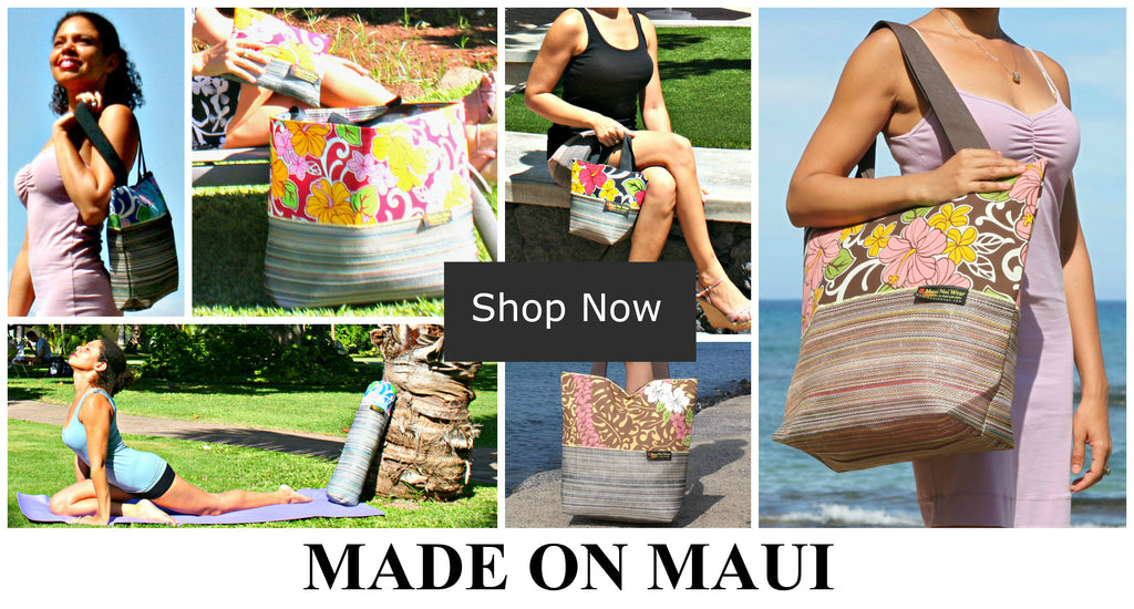 Maui Nui Wear Eco-Friendly Tote Bags
