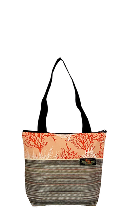 Maui Nui Wear Eco-Friendly Medium Mesh Tote Bag Coral Ke Kola