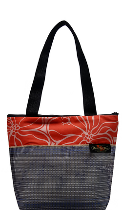 Maui Nui Wear Eco-Friendly Medium Mesh Tote Bag Makana
