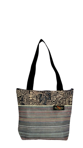 Maui Nui Wear Eco-Friendly Medium Mesh Tote Bag Ocean `Ele`ele
