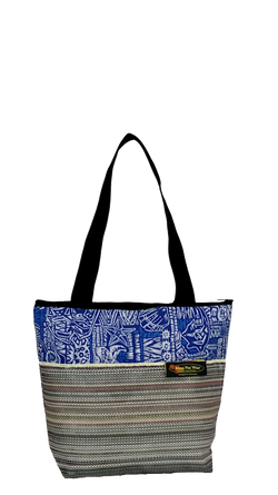 Maui Nui Wear Eco-Friendly Medium Mesh Tote Bag Ocean Polu
