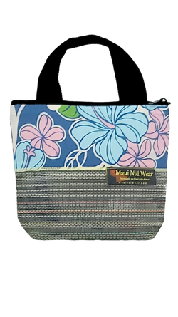 Maui Nui Wear Eco-Friendly Small Mesh Tote Bag Floral Polu