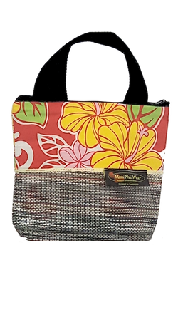 Maui Nui Wear Eco-Friendly Small Mesh Tote Bag Floral `Ula`ula