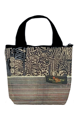 Maui Nui Wear Eco-Friendly Small Mesh Tote Bag Ocean `Ele`ele