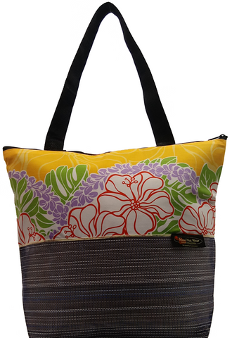 Maui Nui Wear Eco-Friendly XL Mesh Tote Bag Makana