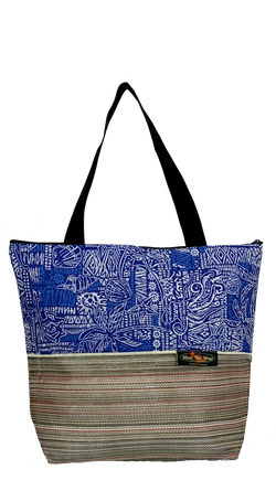 Maui Nui Wear Eco-Friendly XL Mesh Tote Bag Ocean Polu