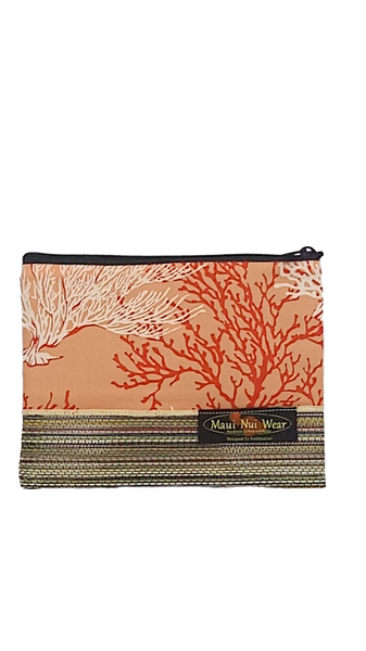 Maui Nui Wear Eco-Friendly Mesh Pouch Coral Ke Kola