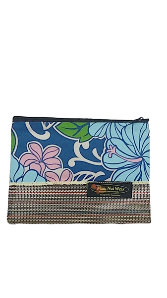 Maui Nui Wear Eco-Friendly Mesh Pouch Floral Polu