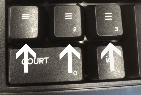 legal keyboard, spacing