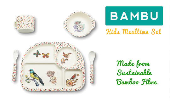 Bambu Mealtime Sets