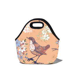 Lunchtime Bag by BBBYO - Sparrow print