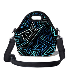 Lunchtime Bag by BBBYO - with shoulder strap - Lightning print
