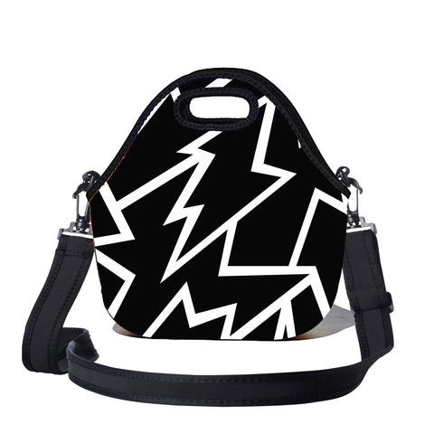 Lunchtime Bag by BBBYO - with shoulder strap - Spark print