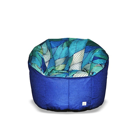 Daily Deal   Pumpkin Beanbag Chair (Teen To Adult)   Tide Print