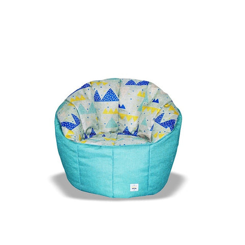 Pumpkin Beanbag Chair (Kids) - Peak print