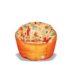 Pumpkin Beanbag Chair (Kids) - Tweet print