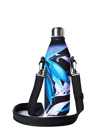 TRVLR by BBBYO carry cover - with shoulder strap - 750 ml - Night Paradise print